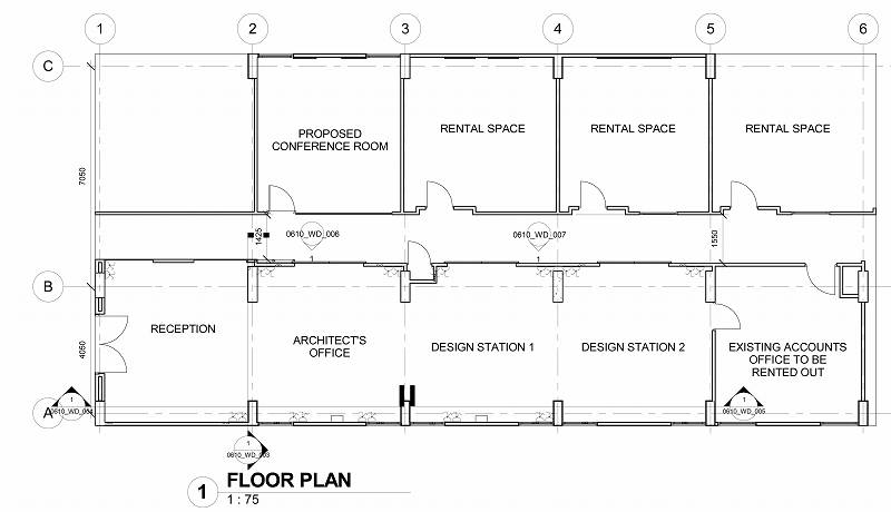 Sheet - 0610_WD_001 - FLOOR PLANS